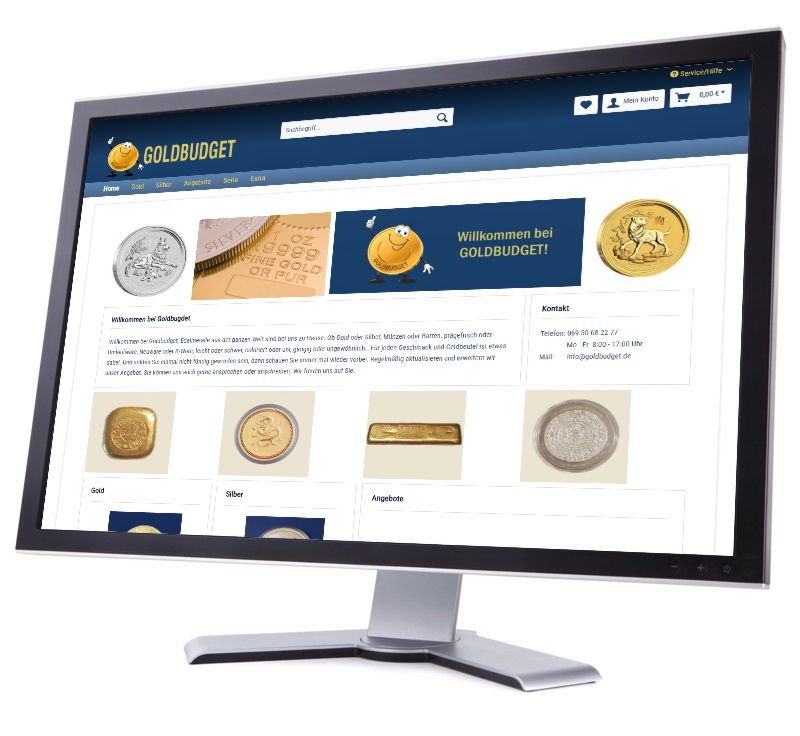 Goldbudget Edelmetalle Shop